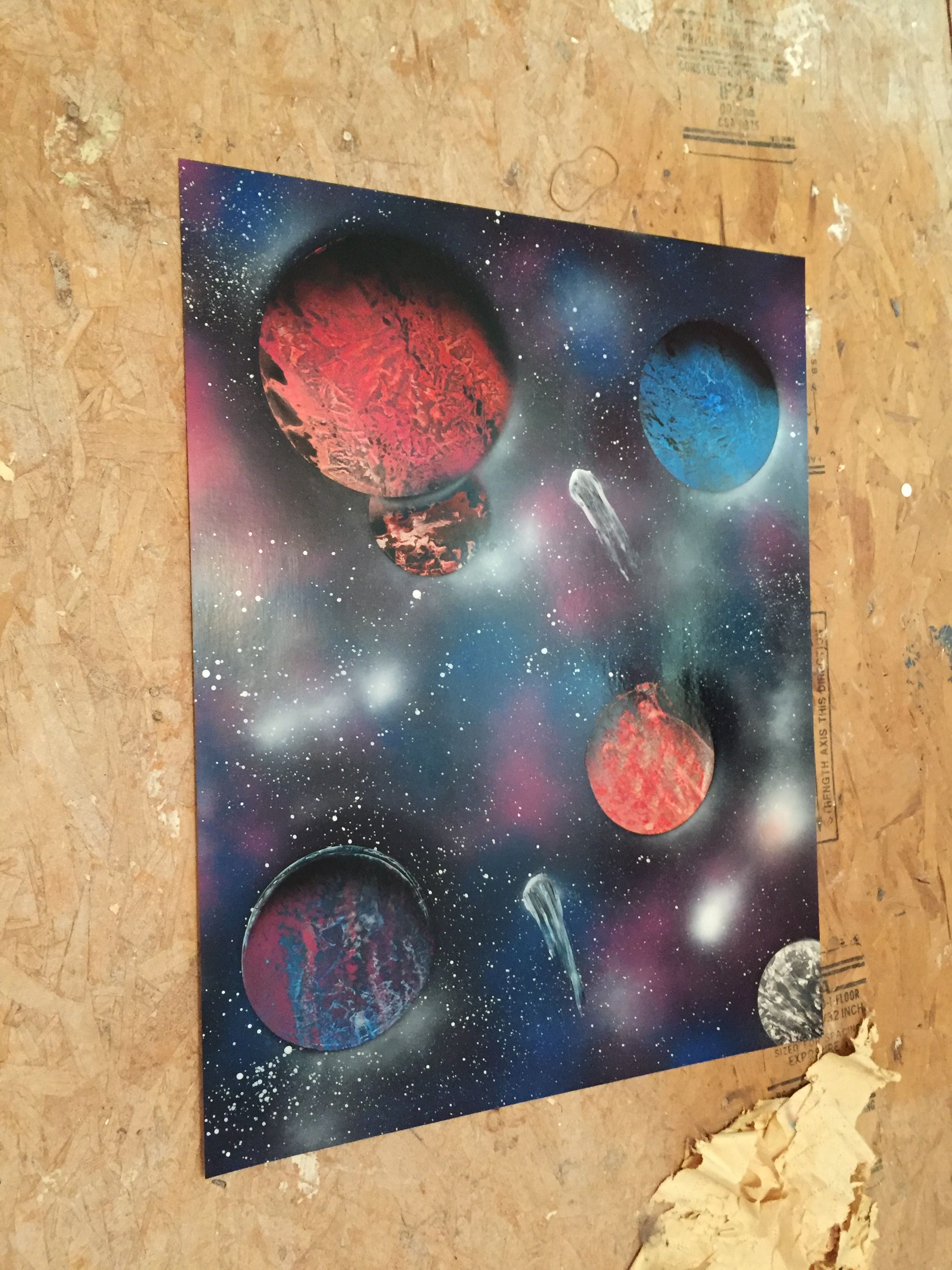 Spray Paint Art By Riniculousart More Information