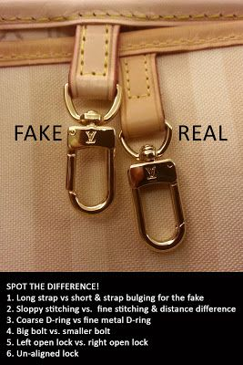 cccd1fd72e3d How to spot a fake Louis Vuitton Bag