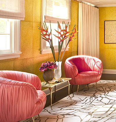 kelly wearstler  chairs/color