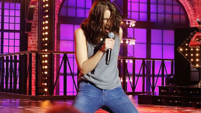 The Walking Dead's Lauren Cohan Performs Sister Christian On Lip Sync Battle