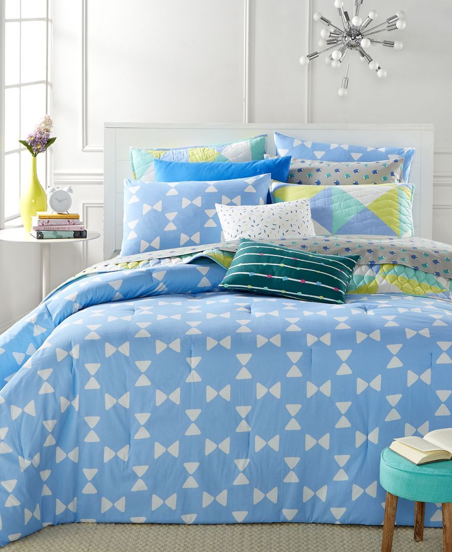 Whim by Martha Stewart Collection Bow Tie 5-Piece King Comforter Set, Only at Macy's