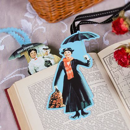 mary poppins pumpkin design | Mary Poppins Bookmark | Spoonful (includes printable template)