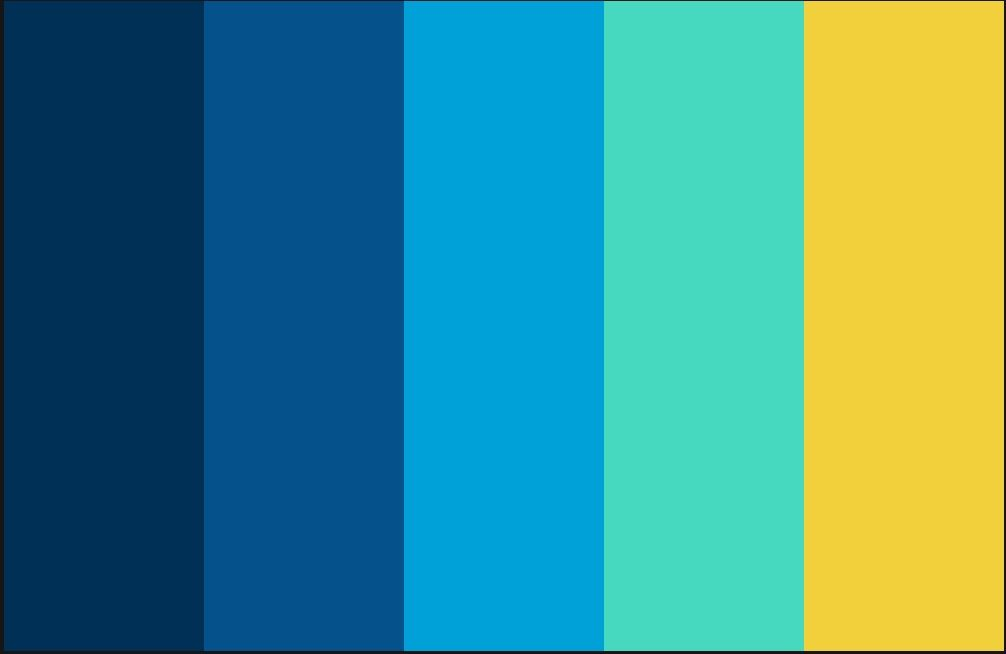 Color Scheme Yellow Sky Blue Navy Blue Color Schemes Picture Color Schemes Blue Colour Palette