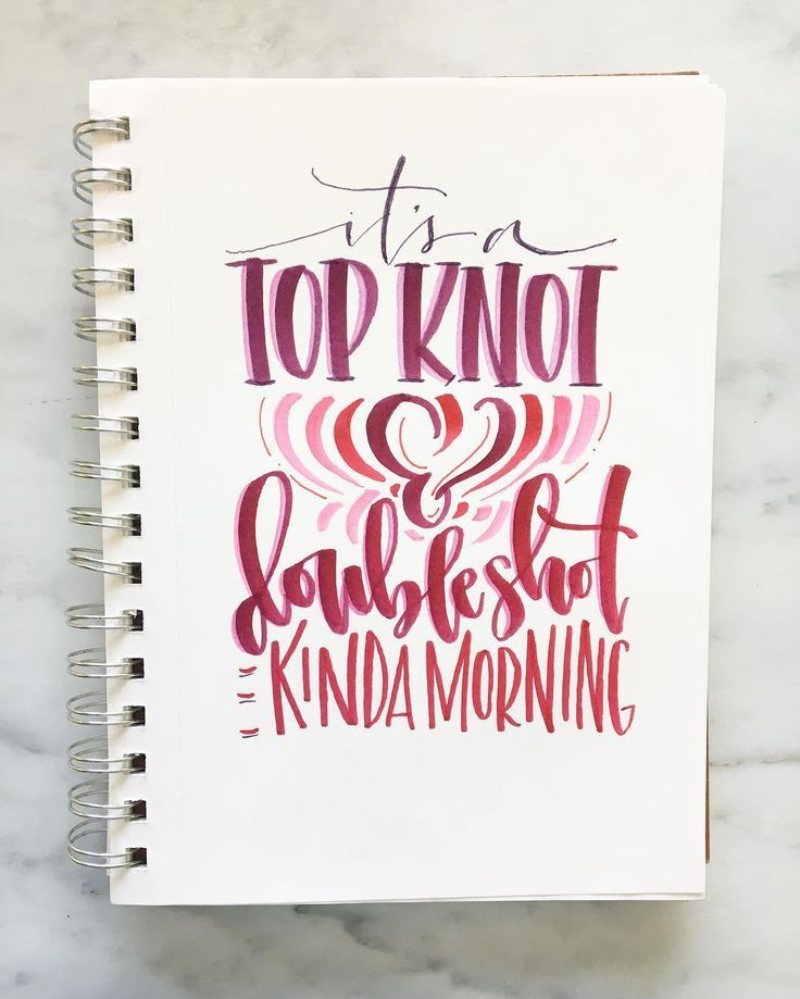 Handlettering Using Tombow Dual Brush Pens