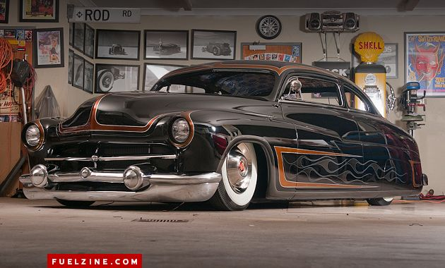1950 Mercury Coupe Now This Soooo Cool Reminds Me Of The Stray Cats Song Theres A 49 Merc Going Round Riding At About Inch Off Ground