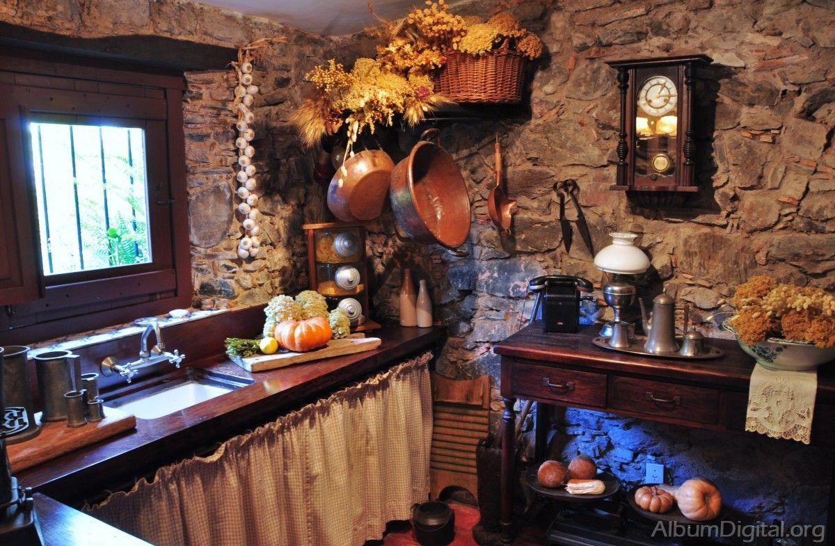 Cocina rustica | Cocinas | Pinterest | Rusticas, Cocinas y Cocinas ...