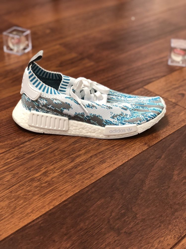30333290a Adidas Sns Nmd R1 PK Datamosh OG blue BB6364 Size 9  fashion  clothing   shoes  accessories  mensshoes  athleticshoes (ebay link)