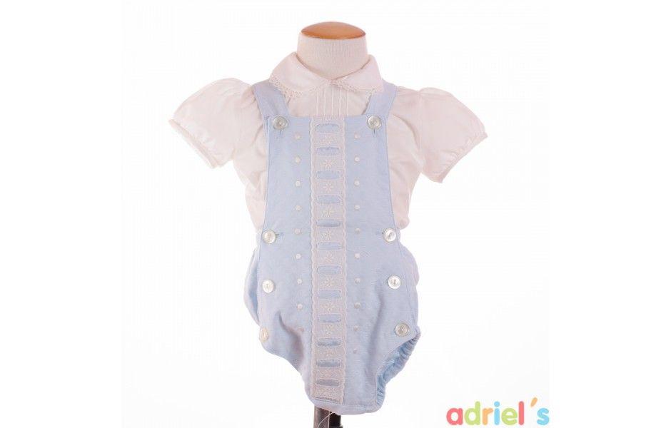 0039c81b1 Ranita celeste para bebe de Dolce Petit - adrielsmoda.es