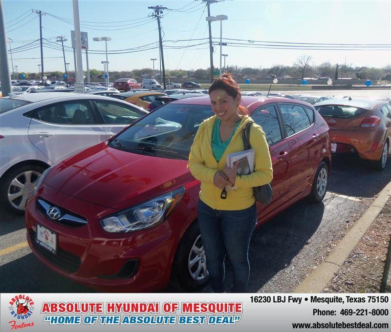 HappyBirthday to Stefanie Tovar from Larry Green at Absolute Hyundai