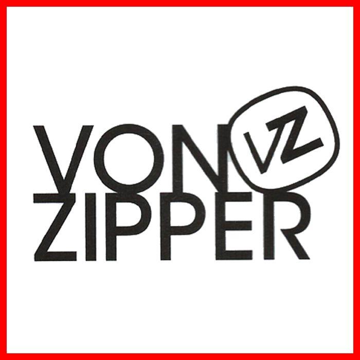 メルカリ商品 ボンジッパー(VonZipper)プリントロゴマークステッカーBLK メルカリ