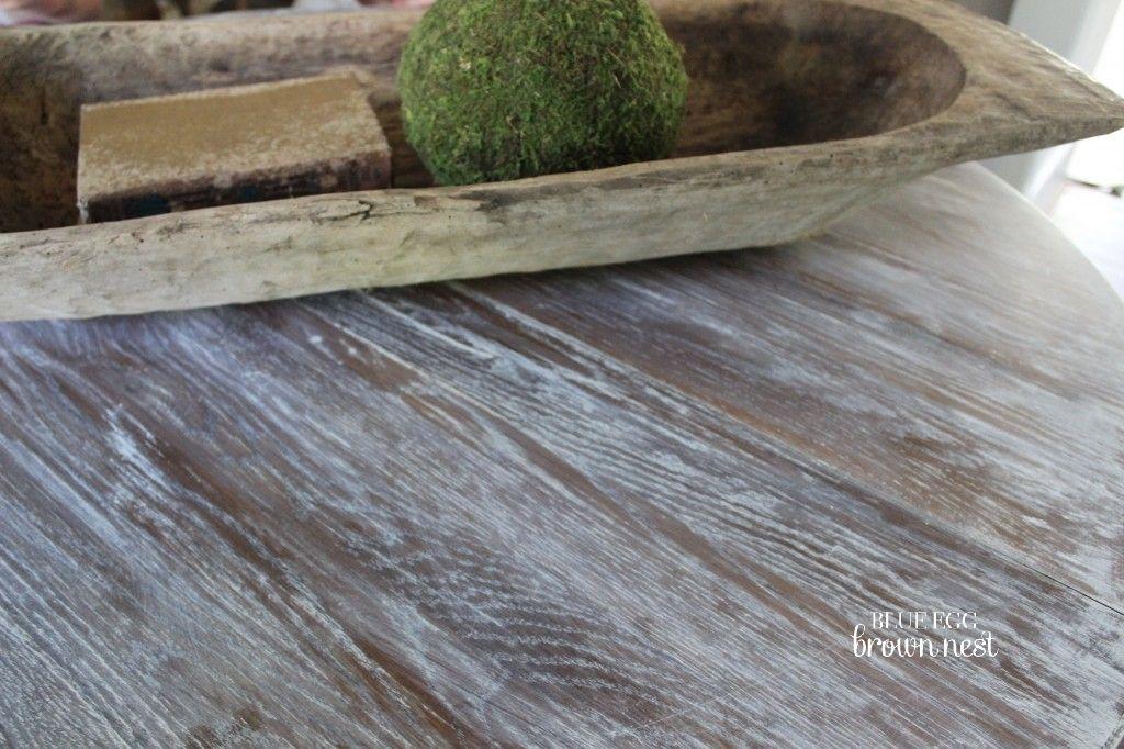 Weathered Wood Look Tutorial Weathered Wood Chalk Paint Furniture Redo Furniture