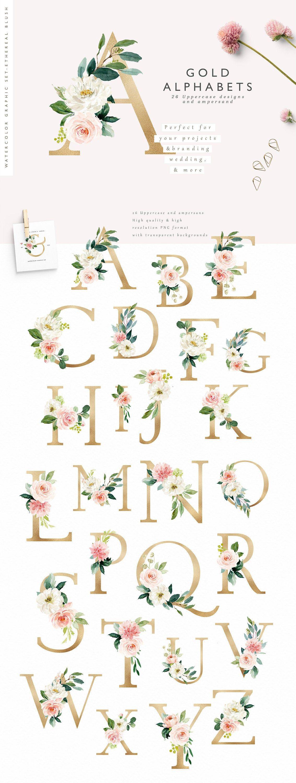 Photo of Ätherisches Rouge-Blumen-Grafikset / Großes Set / Hochzeit / Individuelle PNG-Dateien / Handgemalt / Hochzeitseinladung / Weiblich
