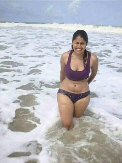 Hot Indian Girl In Black