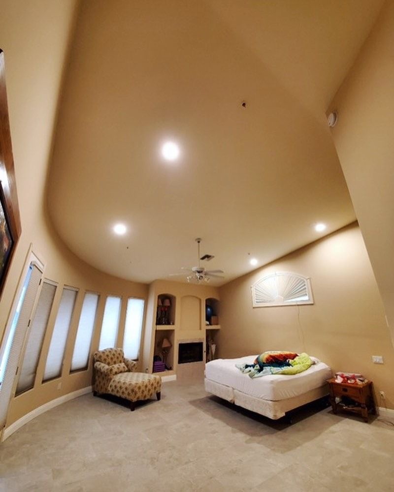 Recessed Lighting in Master Bedroom in 2020 | Master ...