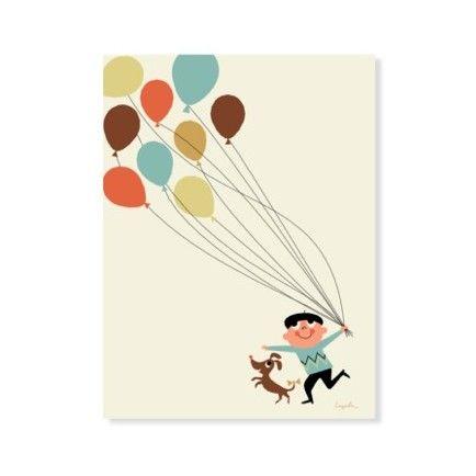 Tivoli Balloon Print