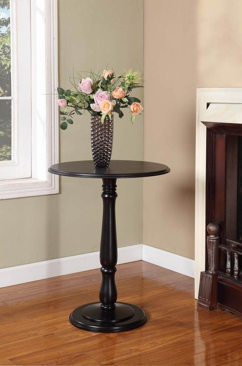 Best Coby Side Table Black Wood Black Wood End Tables Wood 400 x 300