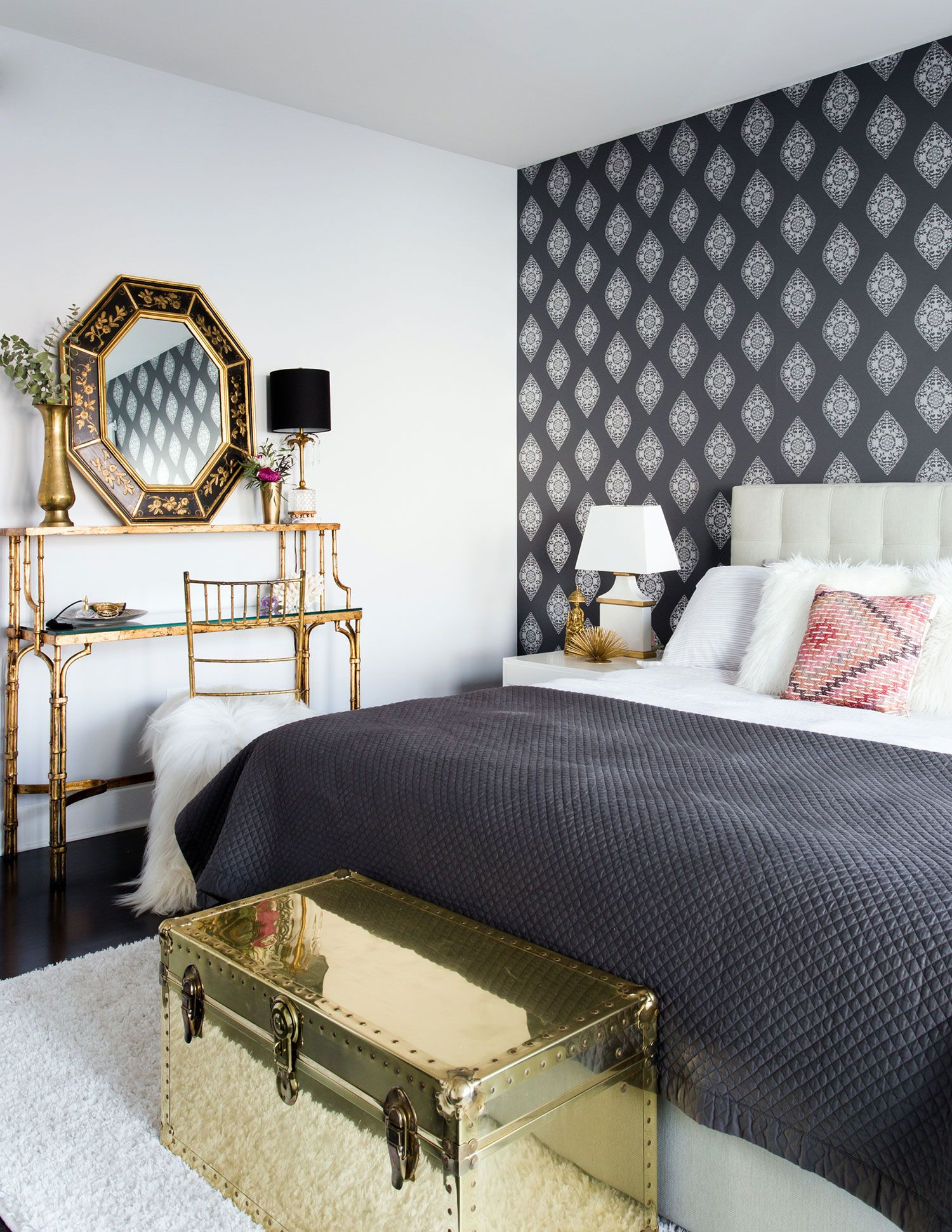 Bohemian Glam Interior Stunning Modern Bohemian Living: A Bohemian Bedroom By Centered By Design