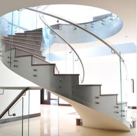 Dise os de escalera en espiral o caracol de metal y madera - Imagenes de escaleras de caracol ...
