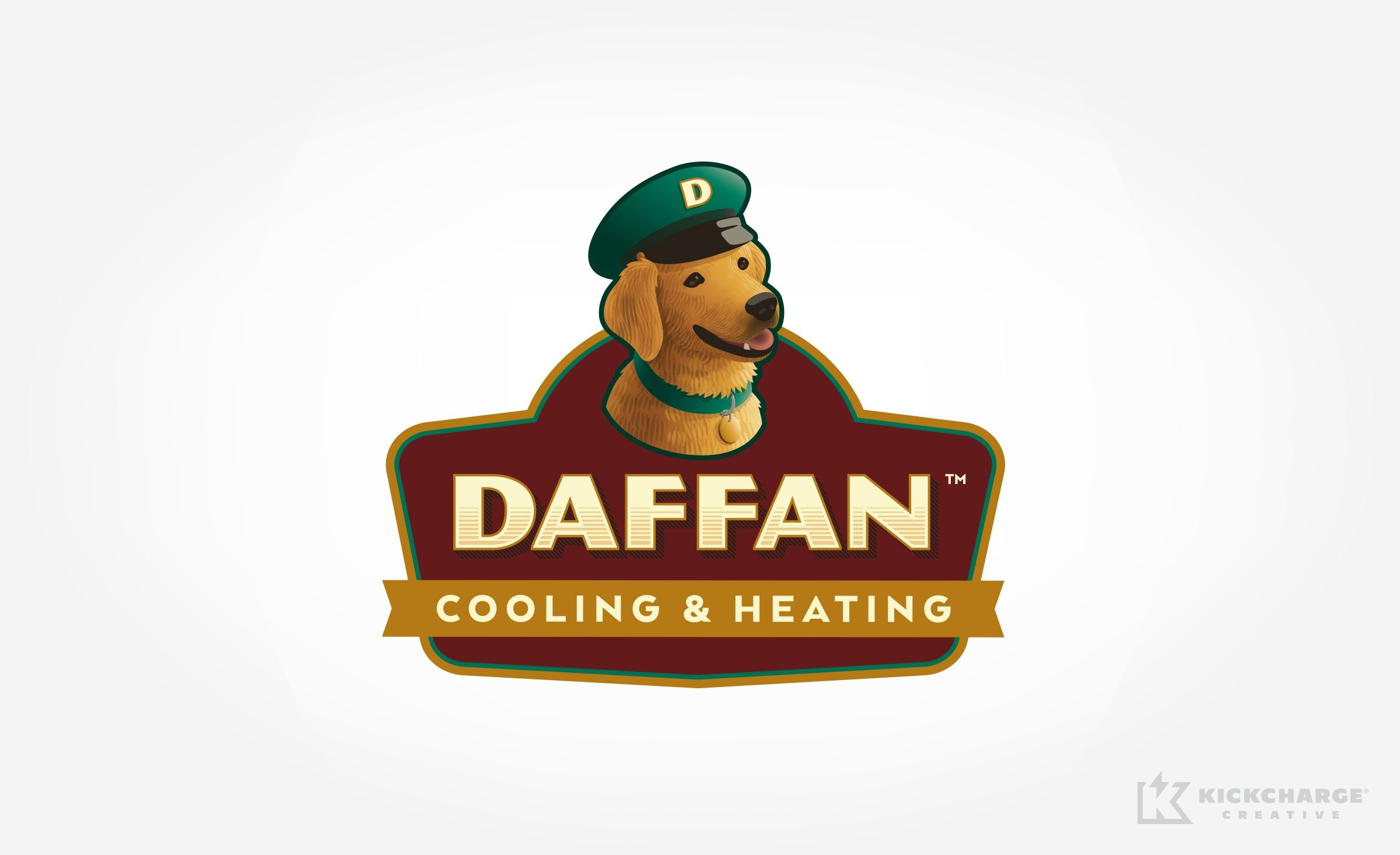 Logo Design For Daffan Cooling Heating A Texas Based Hvac