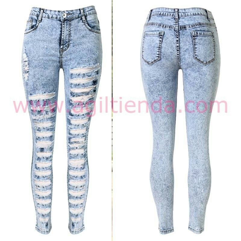 Pin On Pantalones Jeans Rotos