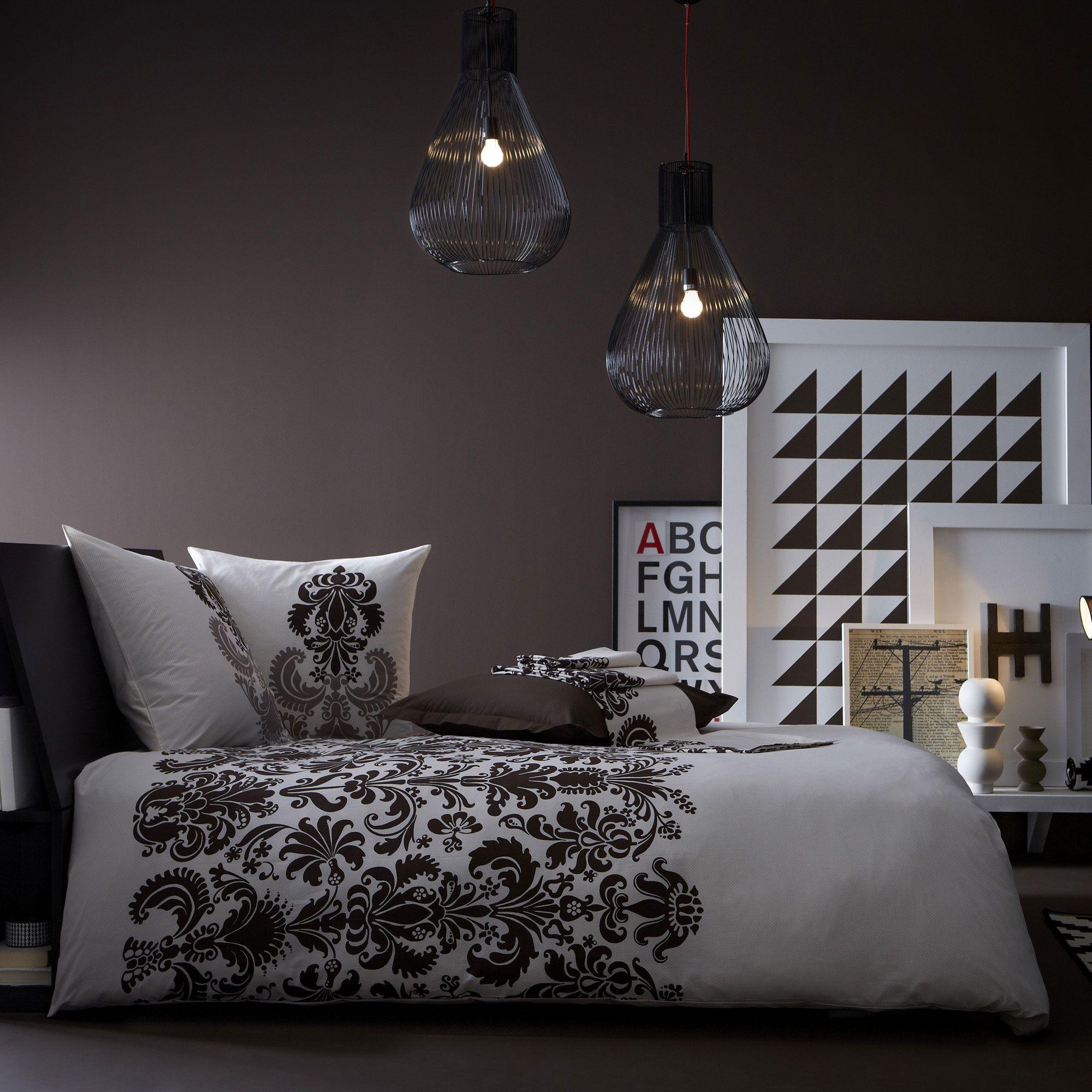 housse de couette 100 coton arabesques baroque. Black Bedroom Furniture Sets. Home Design Ideas