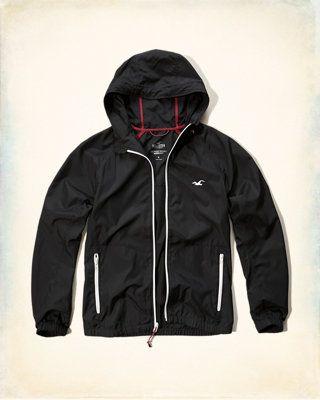hollister lightweight jacket