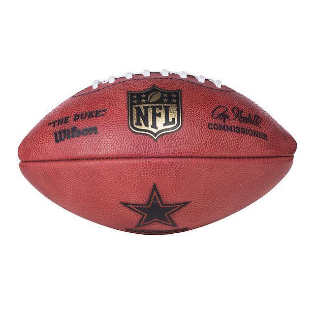 c7f9458c Dallas Cowboys Wilson Junior Game Ball | Cowboys | Cowboys football ...