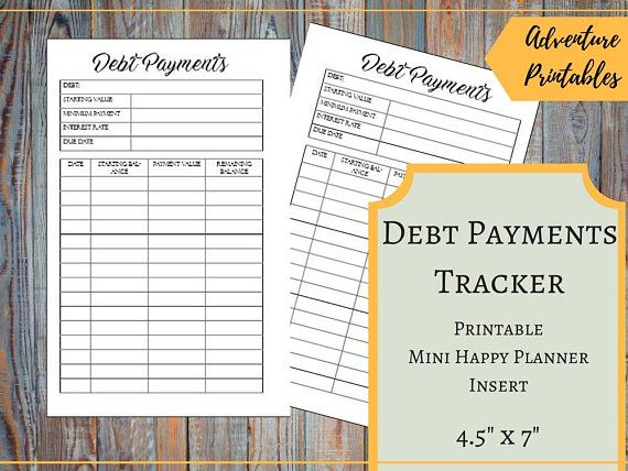 credit card payment tracker