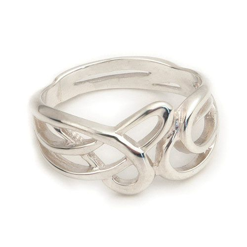 Rings R Us - Celtic Knot Ring Ortak-11 - Various Precious Metals, £50.00 (http://www.ringsrus.co.uk/celtic-knot-ring-ortak-11-various-precious-metals/)