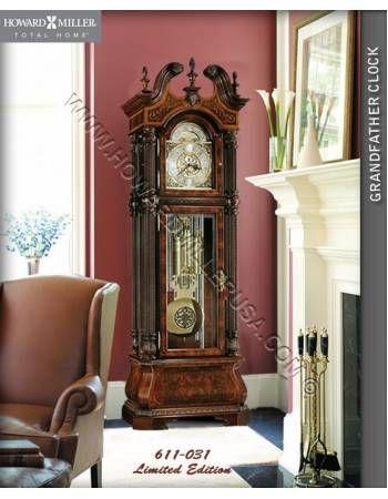 Howard Miller Limited Edition Grandfather Clock Floor Clocks
