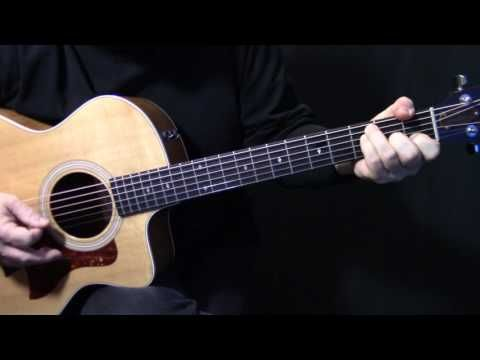 How To Play Bluebird On Guitar By Paul Mccartney Acoustic Guitar Lesson Tutorial Acoustic Guitar Lessons Guitar Guitar Lessons Tutorials