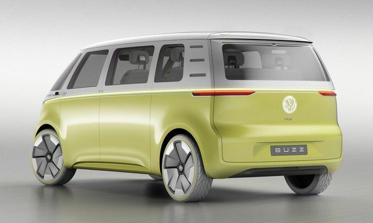 Cool Volkswagen 2017: Volkswagen's Autonomous I.D. BUZZ Bus...  VW Tranporter Check more at http://carsboard.pro/2017/2017/03/22/volkswagen-2017-volkswagens-autonomous-i-d-buzz-bus-vw-tranporter/
