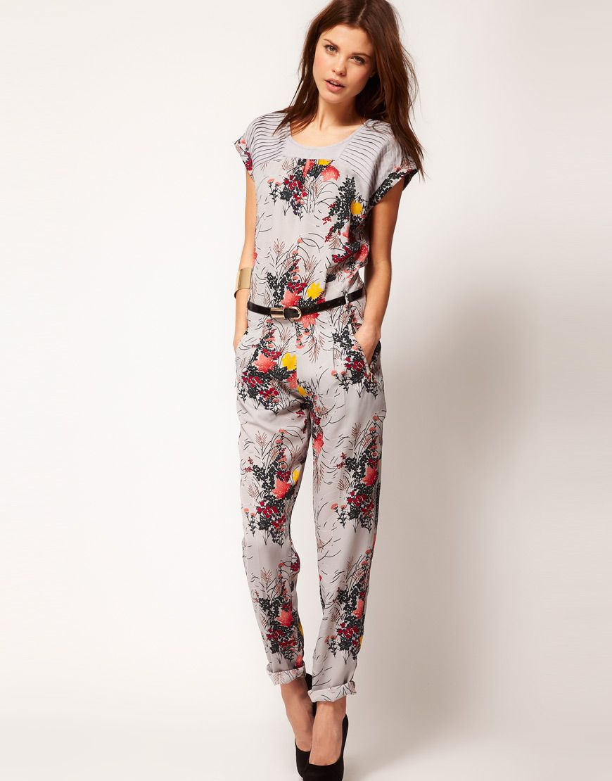 ASOS | Online Shopping for the Latest Clothes & Fashion. Jumpsuit  StyleFloral JumpsuitPrinted ...