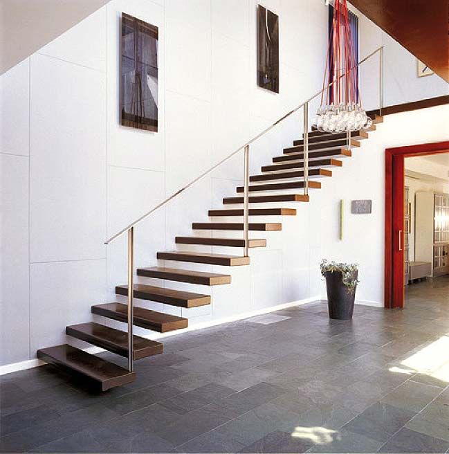 567 Best Staircase Ideas Images On Pinterest: Floating Stairs. I Love The Look Of These.. Awesome