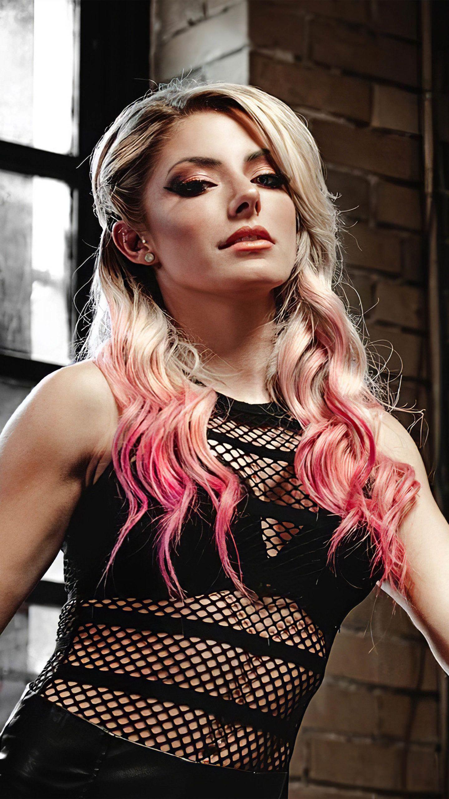 Alexa Bliss Wwe Girl 4k Ultra Hd Mobile Wallpaper Wwe Girls Wwe Raw Women Wwe