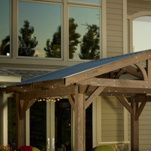 Lodge Ii Pergola Roof By The Outdoor Greatroom Company