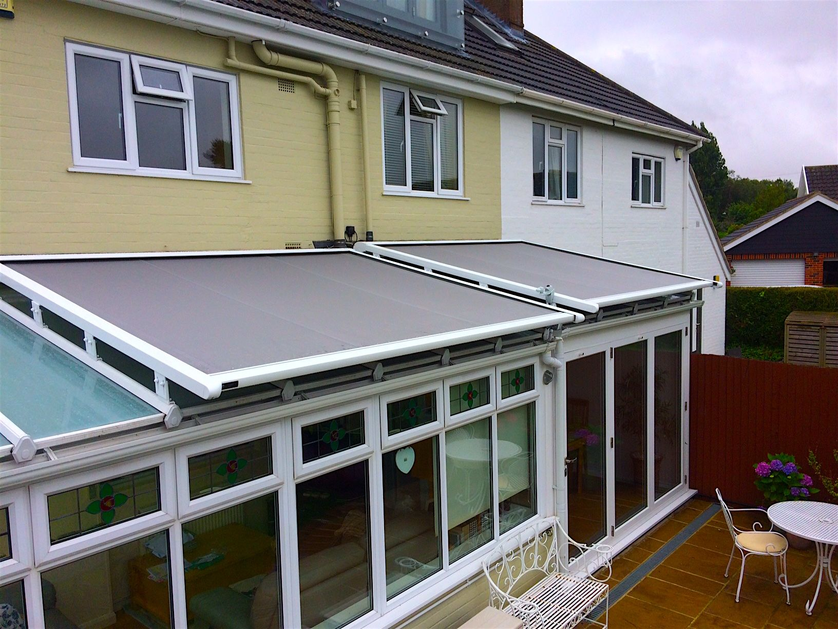 How Our External Roof Blinds Work Caribbean Blinds Conservatory Roof Blinds Conservatory Roof Roof
