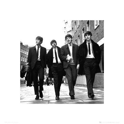The Beatles In London High Quality Poster 16x16
