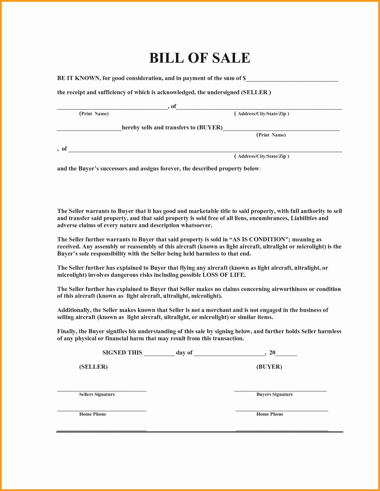 Sale Of Business Contract Template Free In