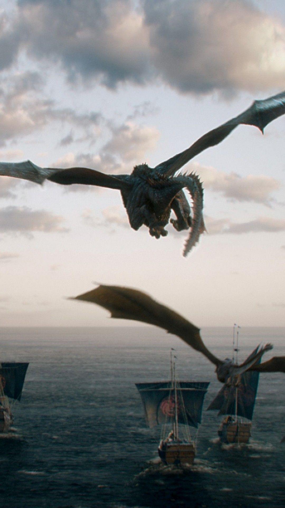 Game Of Thrones Dragons Wallpaper For Iphone Juego De