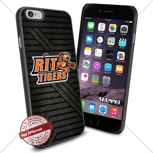 """NCAA-RIT Tigers,iPhone 6 4.7"""" Case Cover Protector for iPhone 6 TPU Rubber Case Black SHUMMA http://www.amazon.com/dp/B013S3QNII/ref=cm_sw_r_pi_dp_BKI2vb09VPVP8"""