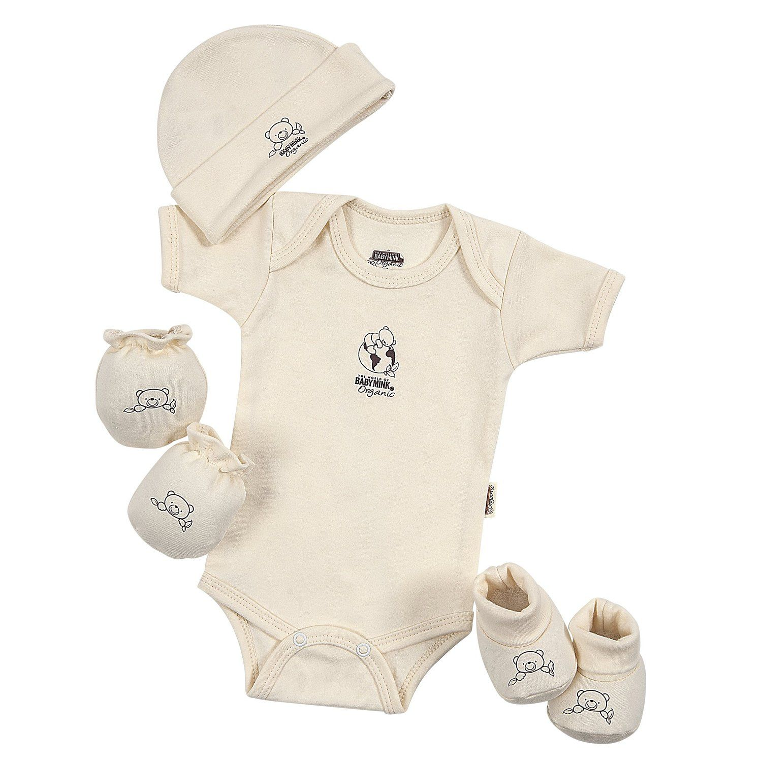 Amazon baby mink 100 certified organic cotton newborn 4 amazon baby mink 100 certified organic cotton newborn 4 piece baby shower negle Images