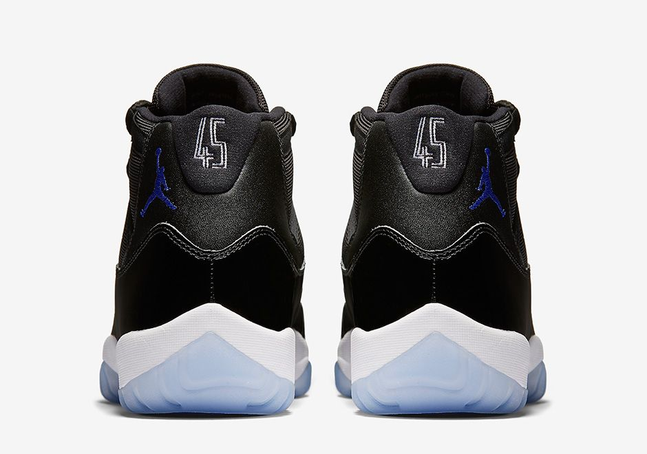 "eed1f716ee8894 AIR JORDAN 11 RETRO ""SPACE JAM"" Color  Black Dark Concord-White Style Code   378037-003"