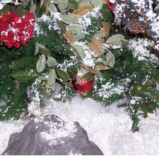 """How to make fake snow with baking powder. I don't know if this works or looks good but I wanted to """"book mark"""" this tutorial to try in the future."""