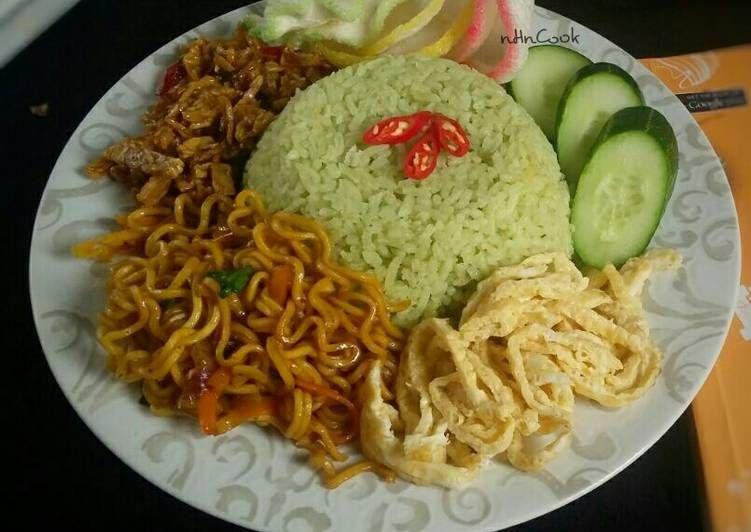 Resep Nasi Uduk Hijau Oleh Nhncook Hikmah Resep Resep Masakan Indonesia Ide Makanan Masakan