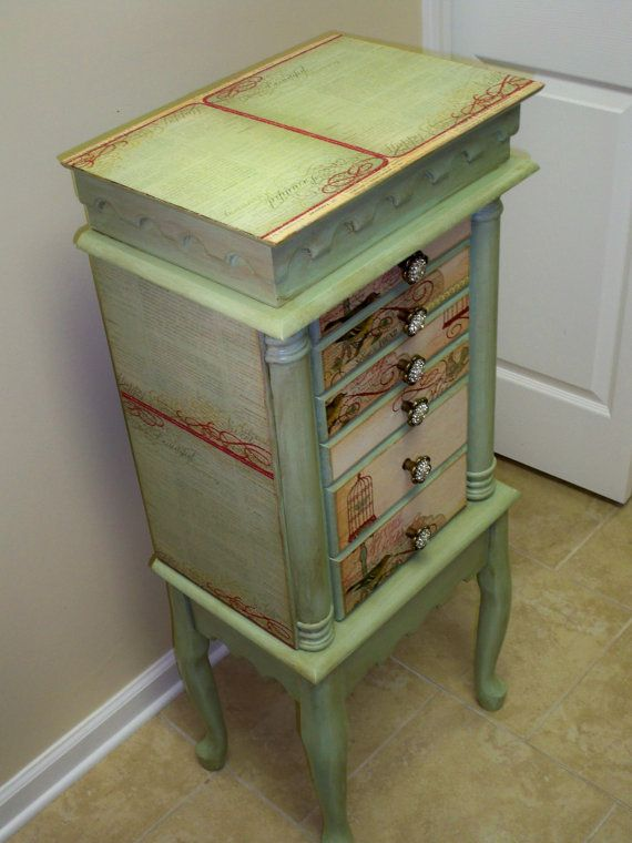 Repurposed Jewelry Armoire Custom Made To Order Armoires