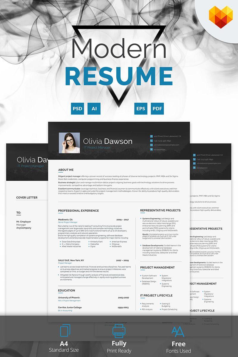 Standard Font Size For Resume It Manager Resume Httpswww.motocmscvbuilder #cv #resume .