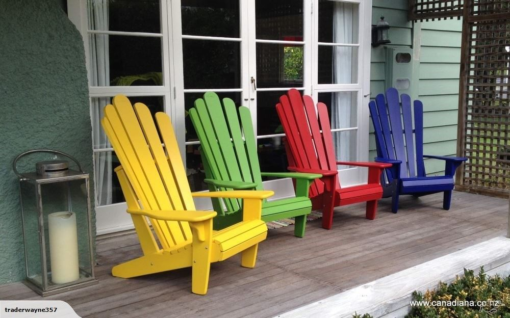 2 Adirondack Chairs Trade Me Outdoor chairs