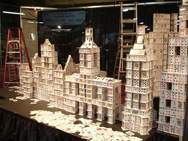 Giant House of Cards by Tjflex2 House of cards, Pool