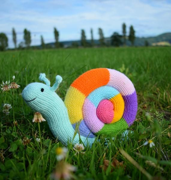 Jimmy Snail knitting pattern PDF instant download (knitted ...